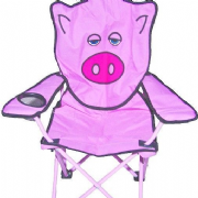 Childrens Pig Camping Animal Chair